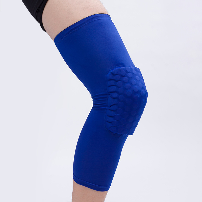 Knee Pads Knee Brace, Hex Knee Pad  Anti-Collision Support Men Women Knee Leg Compression Sleeve for Basketball Volleyball Running Working