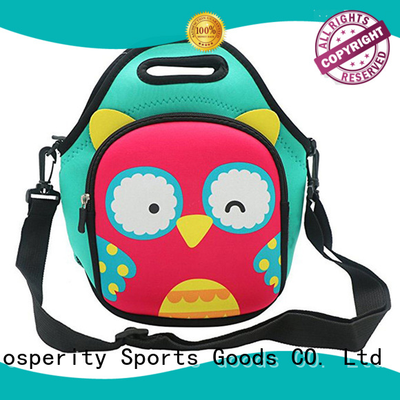 large small neoprene bag with accessories pocket for travel