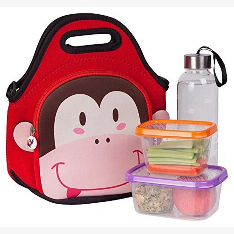 lunch neoprene bags with accessories pocket for travel-2