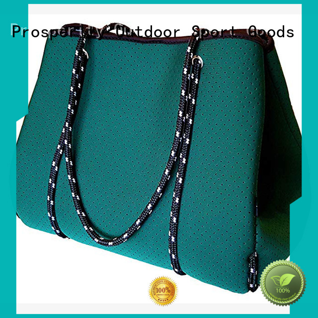 multi functional neoprene bag manufacturer with accessories pocket for hiking