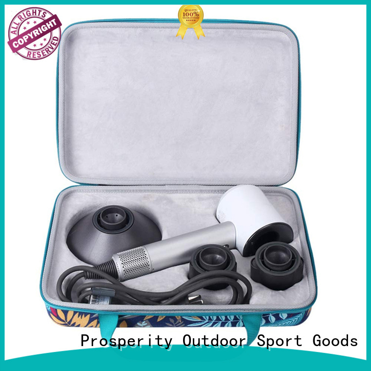 Prosperity pu leather EVA case first aid pouch for hard drive