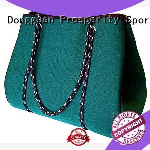 Prosperity can shape wholesale neoprene bags carrier tote bag for hiking