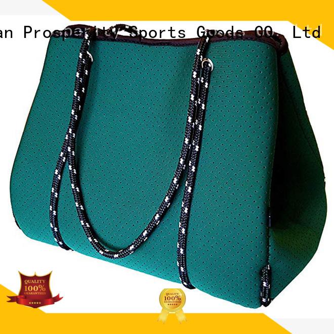 beer neoprene bag manufacturer with accessories pocket for travel