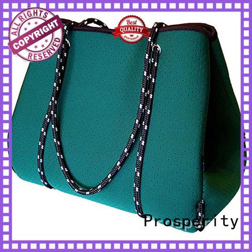 Prosperity custom neoprene bags beach tote bags for travel