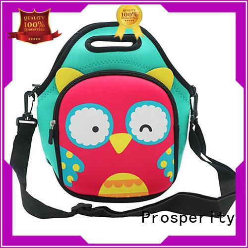Prosperity Neoprene bag water bottle holder for travel