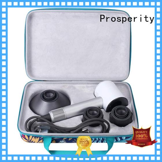 Prosperity black eva zip case speaker case for switch