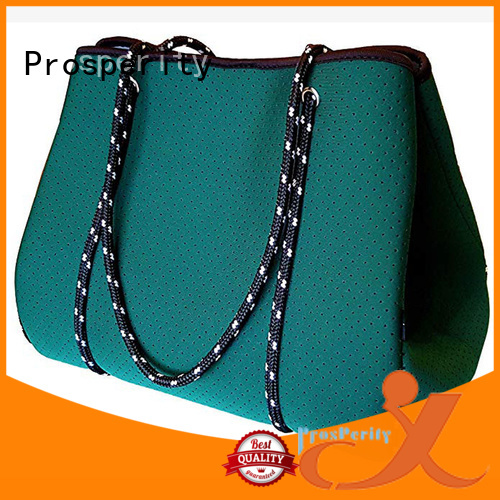 Prosperity custom neoprene bags with accessories pocket for sale