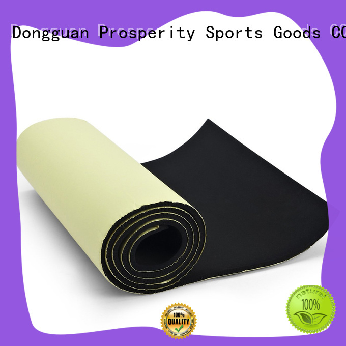 Prosperity breathable neoprene fabric sheets sponge rubber sheet for medical protection