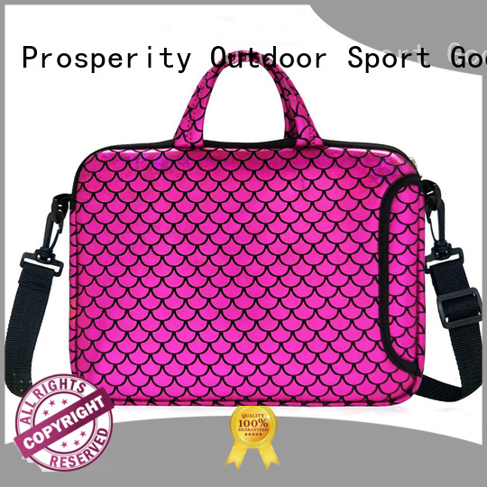 Prosperity bag neoprene distributor for travel