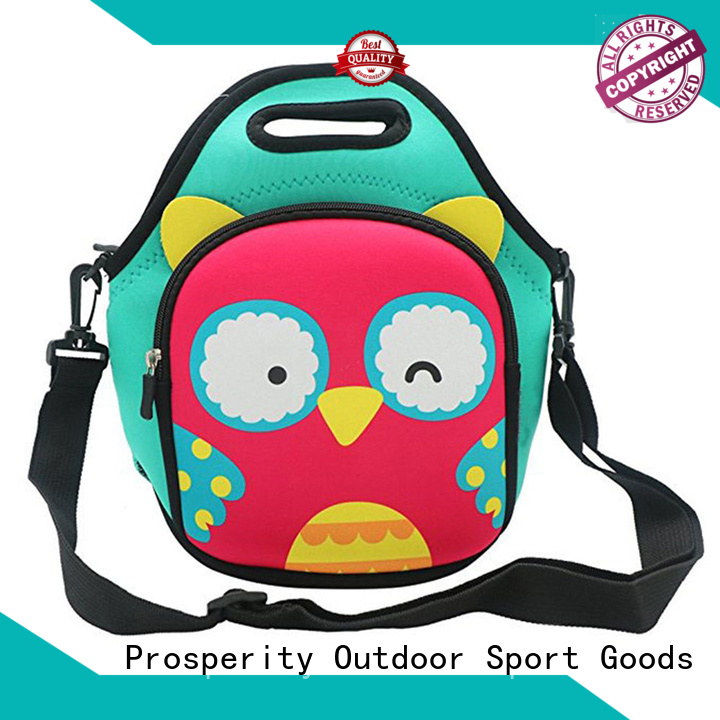 Prosperity wholesale neoprene bags with accessories pocket for sale