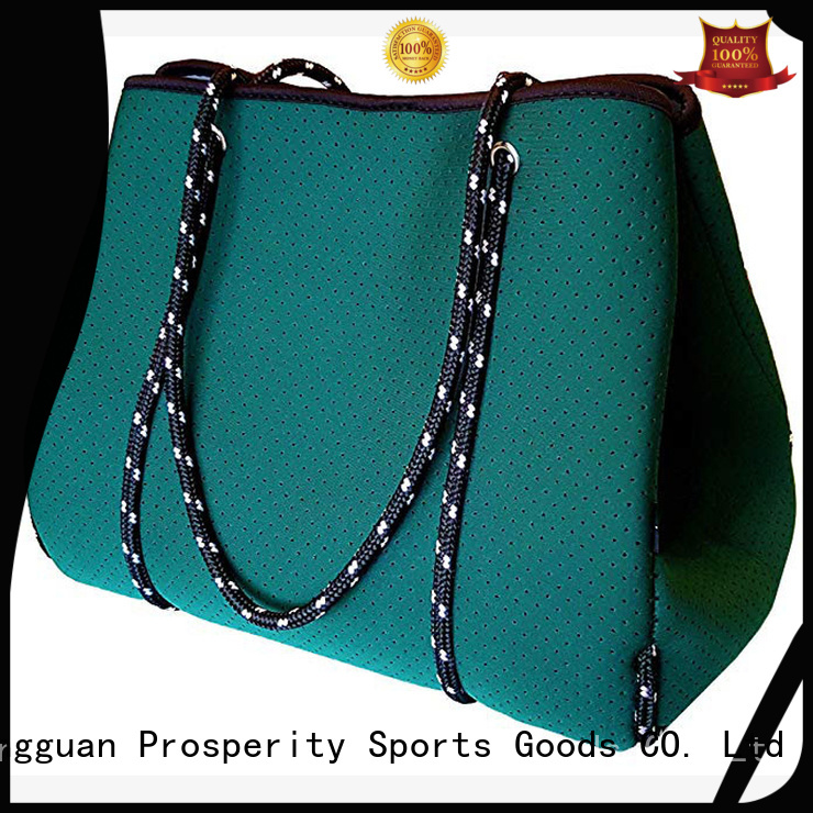 wine small neoprene bag with accessories pocket for travel