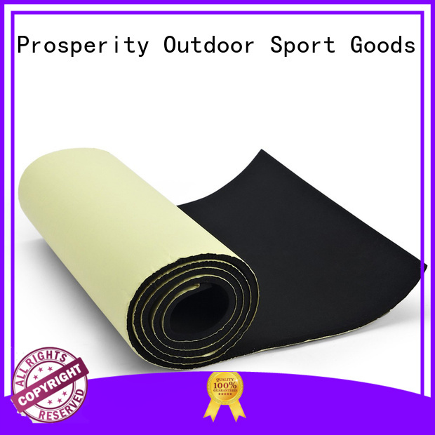 Prosperity neoprene fabric suppliers sponge rubber sheet for medical protection